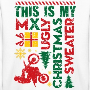 Motocross My Ugly Christmas Sweater Kids' Shirts - Kids' Long Sleeve T-Shirt