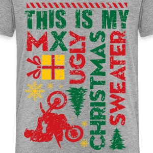 Motocross My Ugly Christmas Sweater Kids' Shirts - Kids' Premium T-Shirt