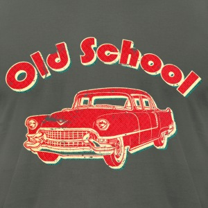 Old School Car Retro  T-Shirts - Men's T-Shirt by American Apparel