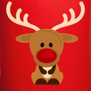 cute rudolph reindeer - Full Color Mug