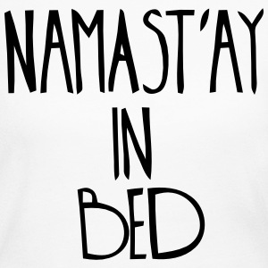 NAMASTAY IN BED Long Sleeve Shirts - Women's Long Sleeve Jersey T-Shirt