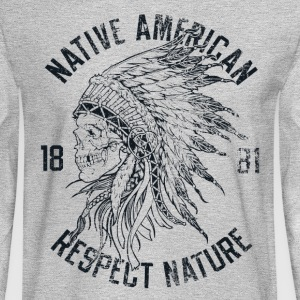 Native American - Men's Long Sleeve T-Shirt