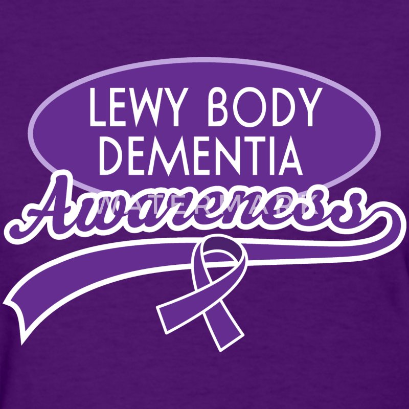 Lewy Body Dementia Awareness Ribbon Women's T-Shirts - Women's T-Shirt