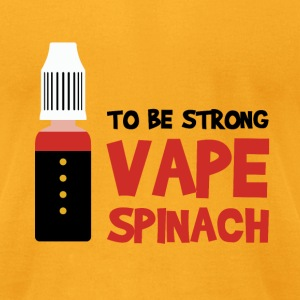 VAPE SPINACH T-Shirts - Men's T-Shirt by American Apparel