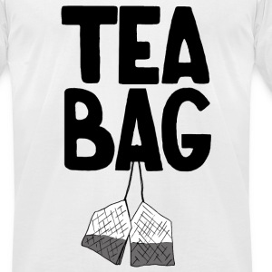 Tea Bag - Men's T-Shirt by American Apparel