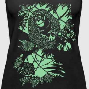 Orang-Utan Tanks - Women's Premium Tank Top