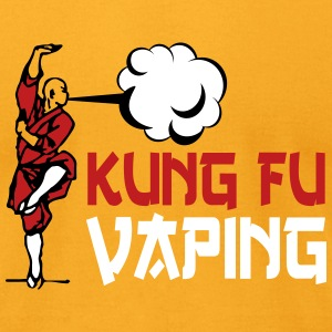 KUNGFU VAPING T-Shirts - Men's T-Shirt by American Apparel