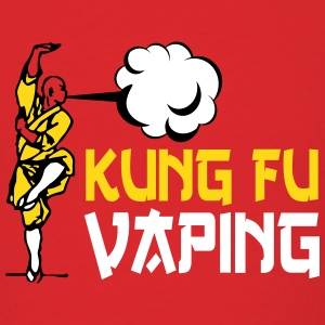 KUNGFU VAPING T-Shirts - Men's T-Shirt