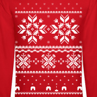 Design ~ Holiday Fair Isle - Red