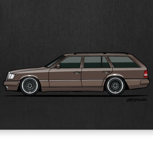Mercedes Benz W124 300TE 300TD Wagon Anthracite Bags & backpacks - Tote Bag