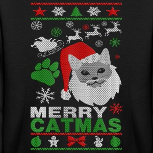 Merry Catmas Ugly Christmast Shirts Kids' Shirts - Kids' Long Sleeve T-Shirt