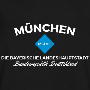 Munich V-Neck - Men's V-Neck T-Shirt by Canvas