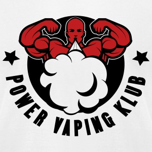 POWER VAPING KLUB 2 T-Shirts - Men's T-Shirt by American Apparel