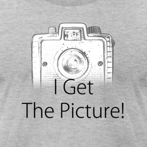 I get the picture brownie T-Shirts - Men's T-Shirt by American Apparel