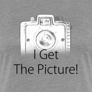 I get the picture brownie Women's T-Shirts - Women's Premium T-Shirt