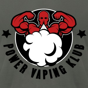 POWER VAPING KLUB 3 T-Shirts - Men's T-Shirt by American Apparel