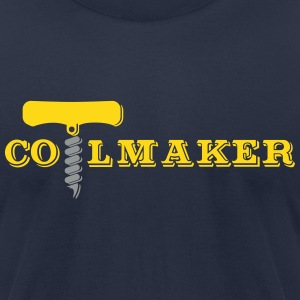 COIL MAKER T-Shirts - Men's T-Shirt by American Apparel
