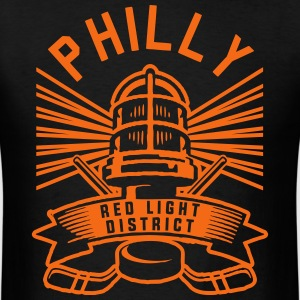 Philly Red Light District T-Shirts - Men's T-Shirt