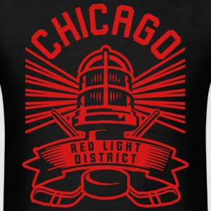 Chicago Red Light District T-Shirts - Men's T-Shirt