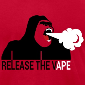 RELEASE THE VAPE T-Shirts - Men's T-Shirt by American Apparel