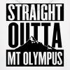 Men's Hoodie Straight Outta Mt Olympus - Men's Hoodie