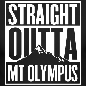 Straight Outta Mt Olympus Long Sleeve Shirts - Men's Long Sleeve T-Shirt by Next Level