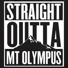 Straight Outta Mt Olympus Hoodies
