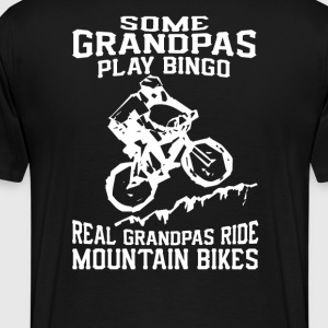 MTB Grandpa - Men's Premium T-Shirt