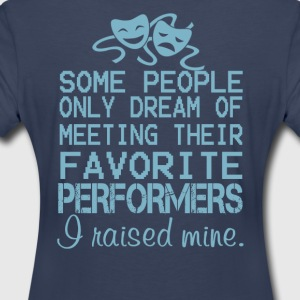 I Raised Mine Theater - Women's Premium T-Shirt
