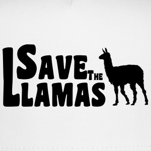 Save the Llamas Cap - Trucker Cap