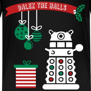 Dalek the Halls - Kid's Christmas Tee - Kids' Premium T-Shirt