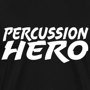 Percussion Hero - Men's Premium T-Shirt