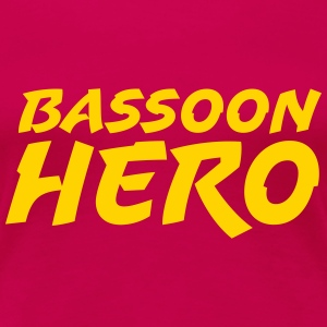 Bassoon Hero - Women's Premium T-Shirt