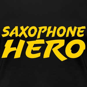 Saxophone Hero - Women's Premium T-Shirt