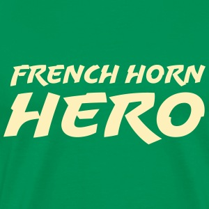 French Horn Hero - Men's Premium T-Shirt