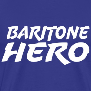 Baritone Hero - Men's Premium T-Shirt
