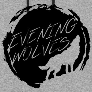 Evening Wolves Hoodie - Colorblock Hoodie