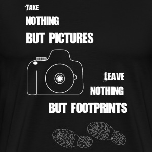TAKE NOTHING BUT PICTURES - Men's Premium T-Shirt