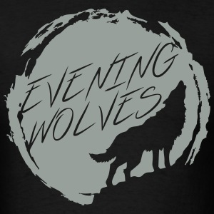 Evening Wolves Men's Tee - Men's T-Shirt