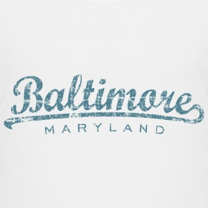 Baltimore, Maryland Classic T-Shirt (Children/Whit - Kids' Premium T-Shirt