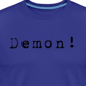 Demon-black T-Shirts - Men's Premium T-Shirt