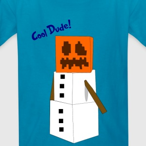 Snow golem - Kids' T-Shirt
