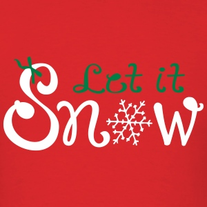 Let it snow Men's T-Shirt - Men's T-Shirt