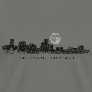Moon over Baltimore T-Shirt - Men's Premium T-Shirt