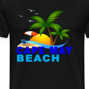 cape_may_beach - Men's Premium T-Shirt