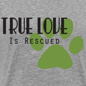 True Love is Rescued - Men's Premium T-Shirt