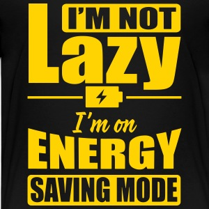 I'm not lazy. I'm on energy saving mode Kids' Shirts - Kids' Premium T-Shirt