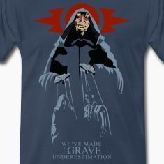Sith Lord Jar Jar Men's Premium T-shirt (navy)