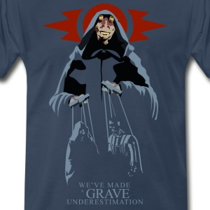 Sith Lord Jar Jar Men's Premium T-shirt (navy) - Men's Premium T-Shirt