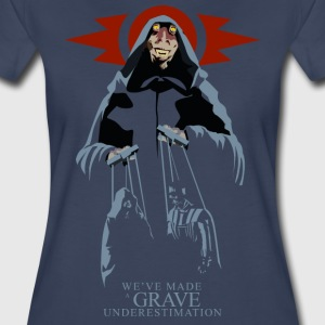 Sith Lord Jar Jar Women's Premium T-shirt (navy) - Women's Premium T-Shirt